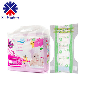 Disposable OEM Service Soft Breathable Fluff Pulp Organic Baby Diaper