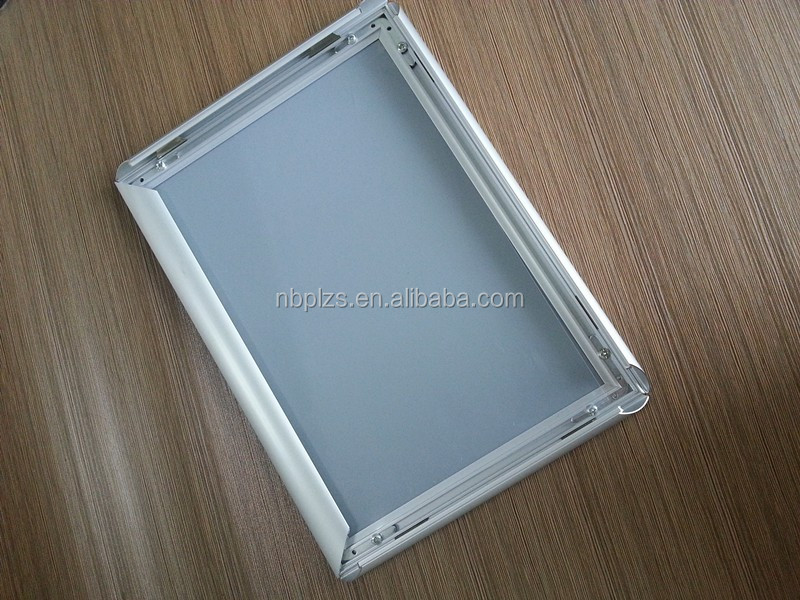 Sign Holder Snap Clip Mitred Corner Aluminum Frame Photo A3 Snap ...
