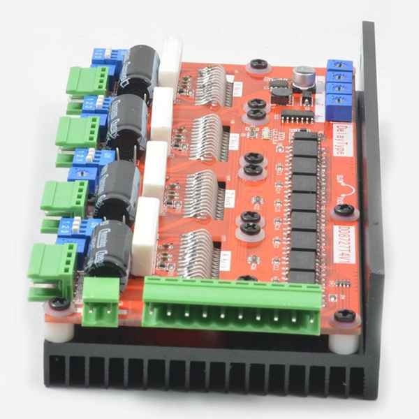 Lv8727 4 Axis 4 2a Stepper Motor Driver Controller Board 128 Segment 1m Khz  Cnc Engraving Machine Drive - Buy Dual Axis Slewing Drive,Differential