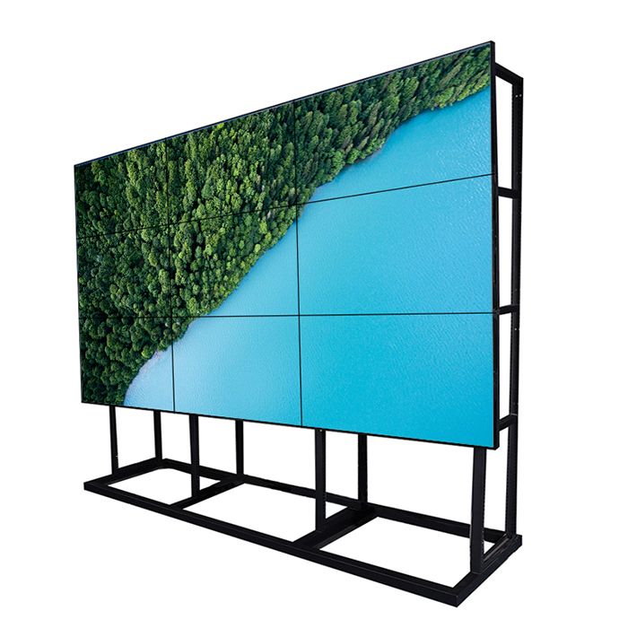 LCD Supplier Indoor Advertisement Floor Stand Digital Signage Player