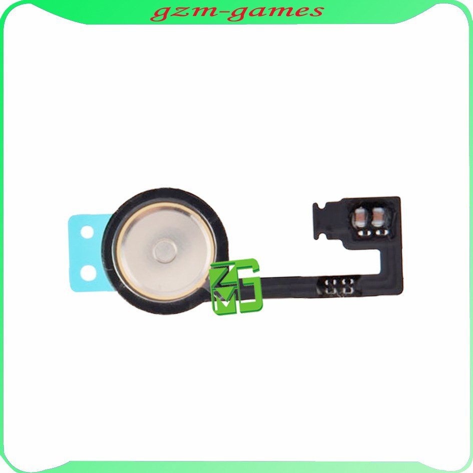 Brand new product menu key for iphone 4s home button flex cable