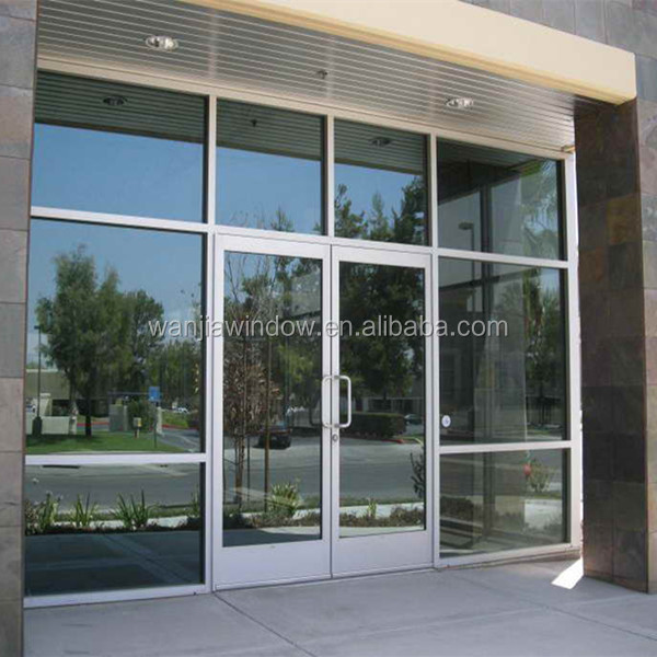 Commercial Exterior Double Doors