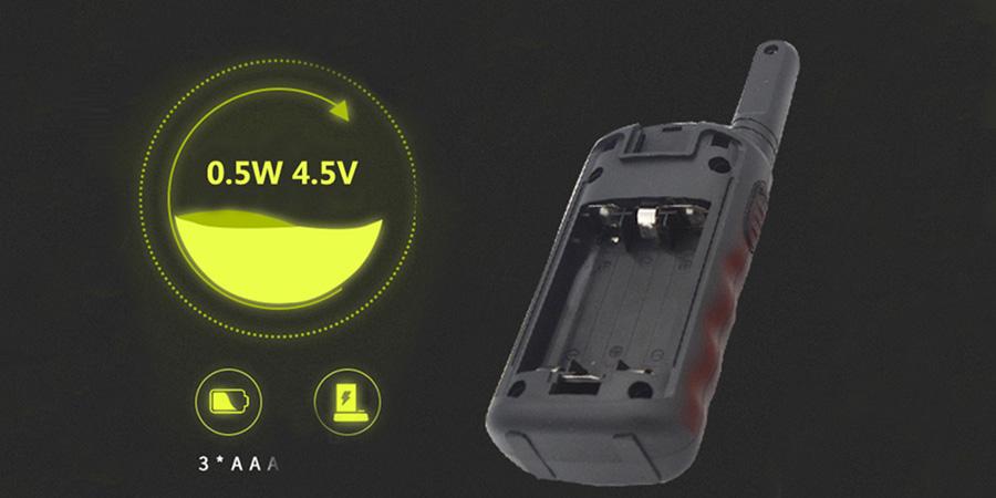 Iki yönlü telsiz el VOX el ücretsiz kablosuz interkom UT308 çocuklar için walkie talkie