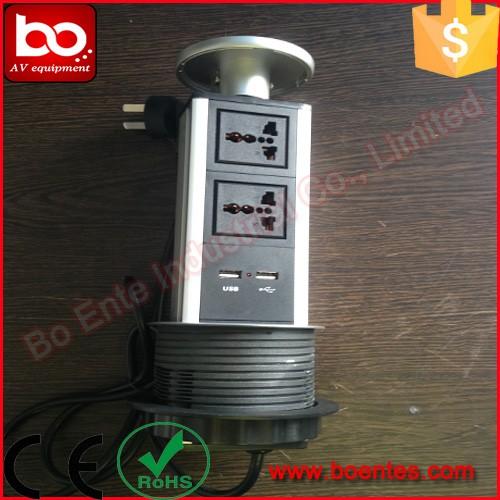Encimera Pop Up Tomacorrientes Para Mesa De Cocina Vertical Socket