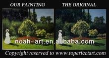 handpainted famous contemporary tree landscape oil painting