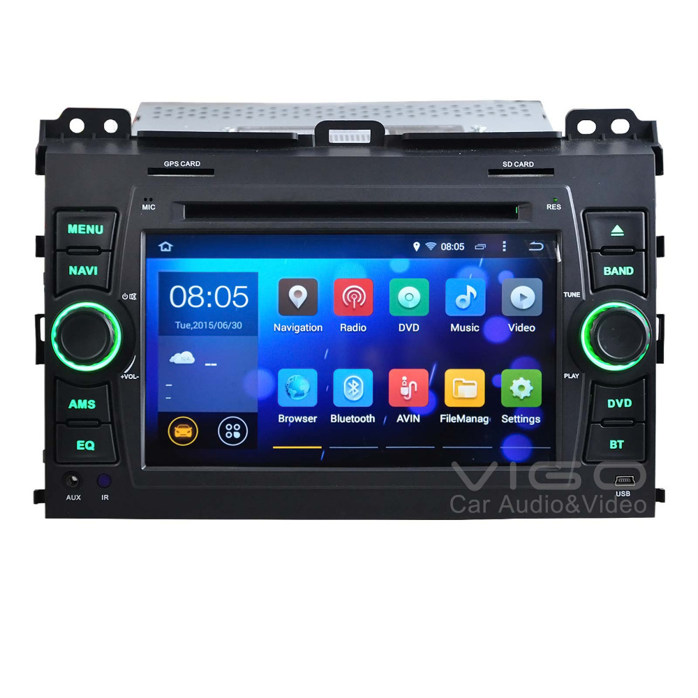 """7"""" Android 4.4 Car Stereo GPS Navigation For Toyota Land"""