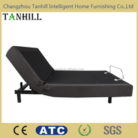 Popular HOT SELLING home furniture remote control headboard adjustable bed