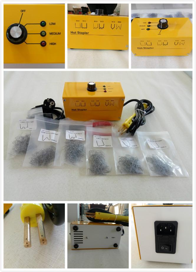 Autenf araba vücut tamir aracı / plastik tamir dikiş için sıcak zımba