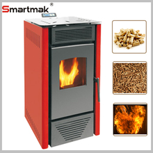 New Automatic feeding wood pellet cooking stove,ceramic igniter for pellet stove