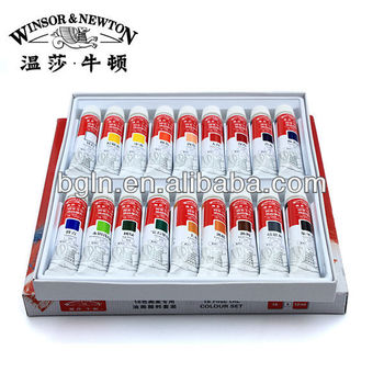 WINSOR&NEWTON 12ml 18colors fine oil colour set