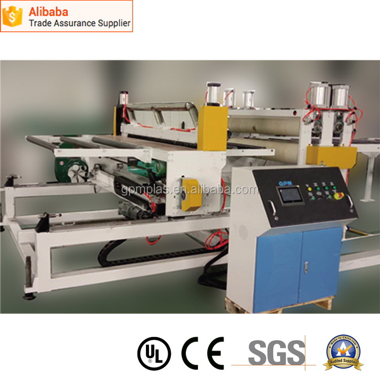 Factory professional pvc sheets panels making machine plant