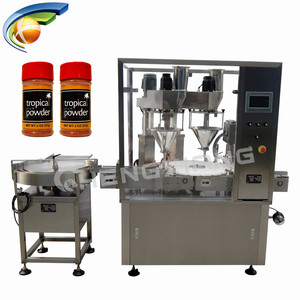 Best service auger powder filling machine,dry powder filler and capper