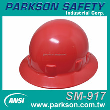 Taiwan Great Protection Round Head Protection ANSI Industrial Construction SM-917 Safety Helmet