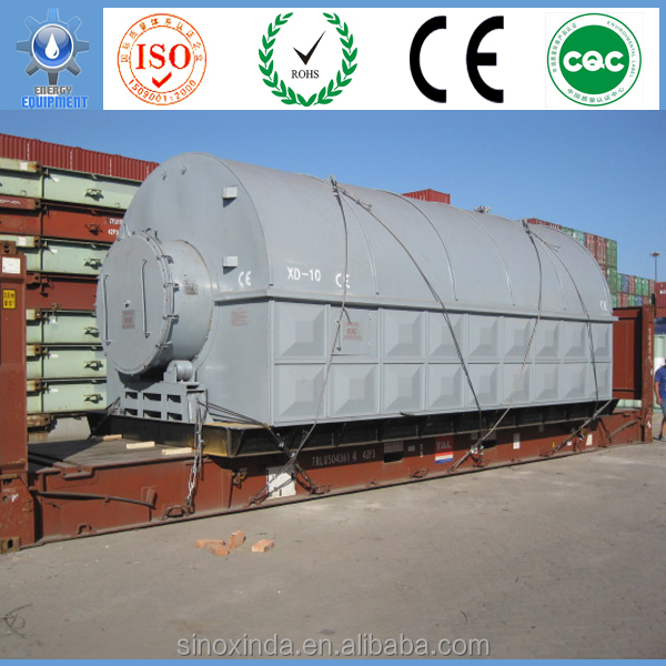 a reactor for pyrolysis equipment with ce certification