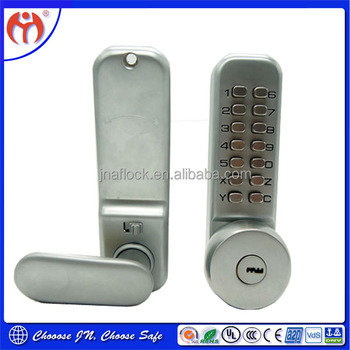 Security Mechanical Digital Combination Code Keyless Door Push Button Lock  Cl37a - Buy Security Mechanical Digital Door Lock,Digital Combination Code