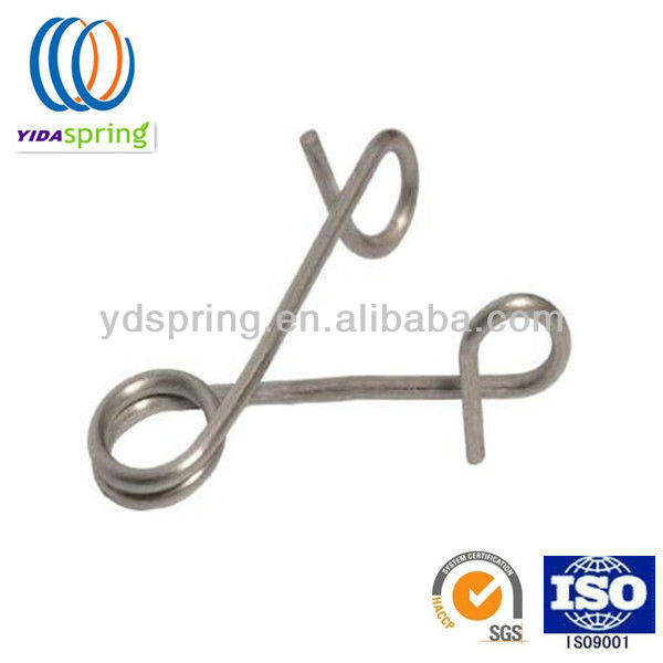 Hot selling and excellent quality clips metal wire spring