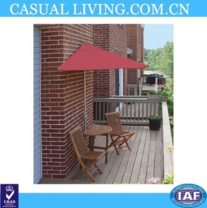 9ft half umbrella wall umbrella