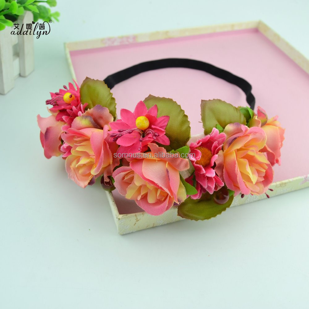 Hot Pink Wholesale Wedding Hairband