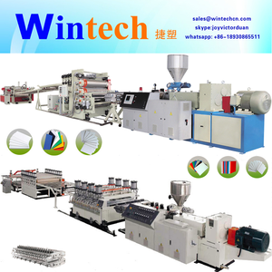 PVC crystal sheet extrusion line