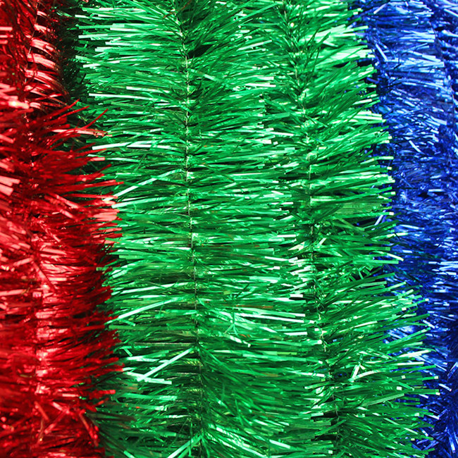 Wholesale Christmas Tinsel Garland .colorful Tassel Party ...