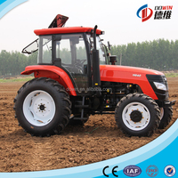famous brand four wheel drive lawn garden tractor