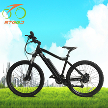 Hub motor 250w 36v battery cheap motorized electric mountain bicycle