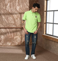 Summer Men's Short Sleeve Polo T shirt Wholesale Support Small Order
