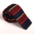 custom fashion mens polyester plain knit tie