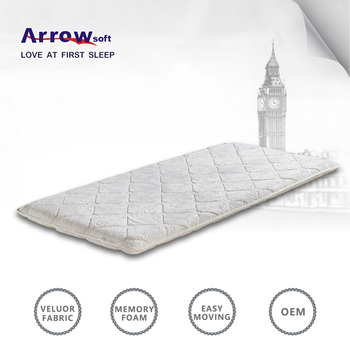 Vacuum Compress Pack Travel Memory Foam Mattress Topper Buy