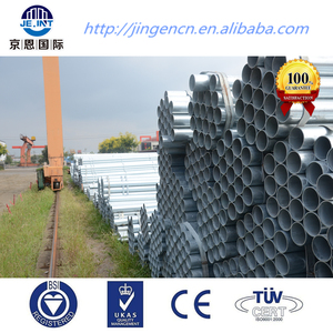 Galvanized steel pipes O.D. DN 32 (42mm) manufacturer in Tianjin