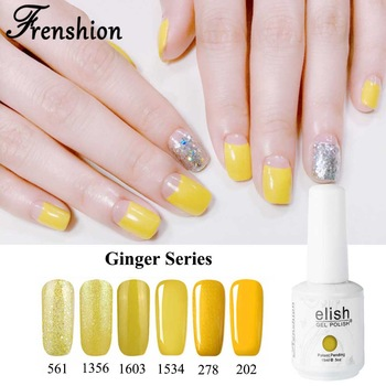 Frenshion Top China Manufacturer Of Nail Gel Polish Ideas Yellow Colors Company Gelpolish