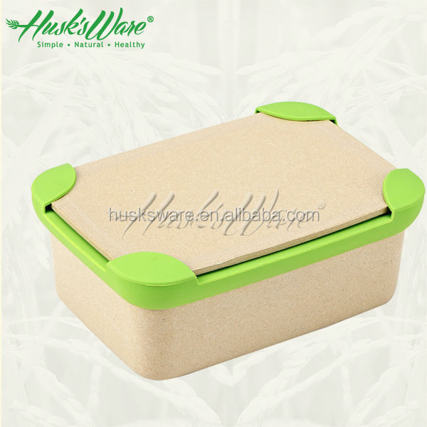 Kids Eco Friendly bento lunch box without PP