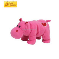 Plush Cartoon Hippos stuffed plush hippo soft valentine hippo animal toy for gifts