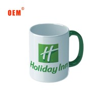 wholesale cheap ceramic mug with logo for promotional gift