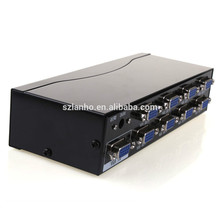 2015 hot high quality 1 PC To 8 Port 1 In 8 Out Ports VGA Video Monitor Splitter Box Power Adapter