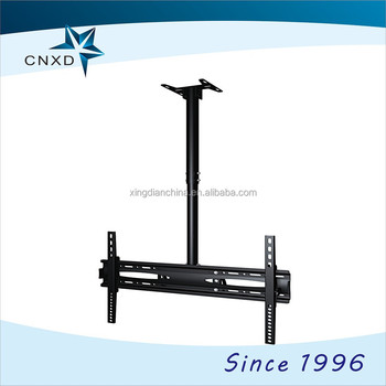 new types aluminum swivel flip down tv ceiling mount