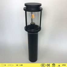 Excellent quality contracted cylindrial lamps 1616/1616A different size modern outdoor bollard lighting