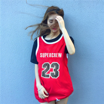 ae3f7b55d10 Factory Outlet Plain Black Red Women Sublimation Short Sleeve Jersey Basketball  Uniforms