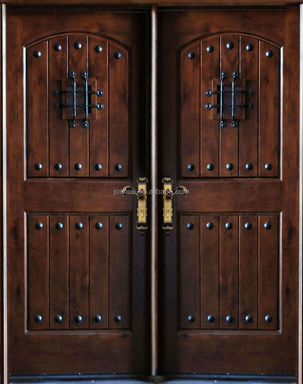 Rustic wrought iron doors, View entry doors, Joshua Product Details ...