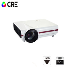 CRE X1500 Support 1080P HD Video LED Projector VGA USB TV Portable Multimedia Projector