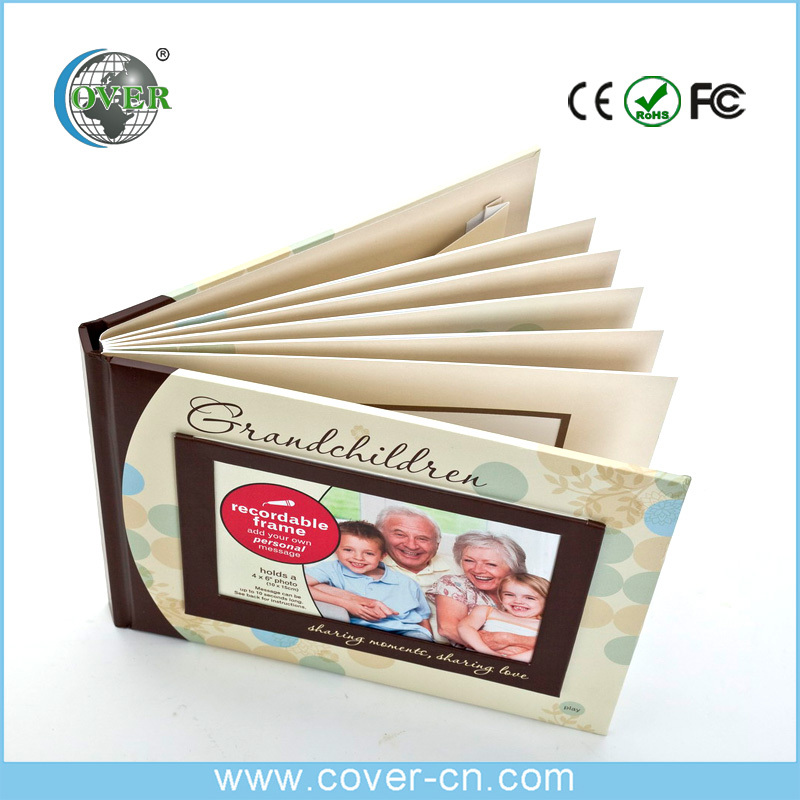 wholesale Colorful photo album paperback photo album for voice recorder
