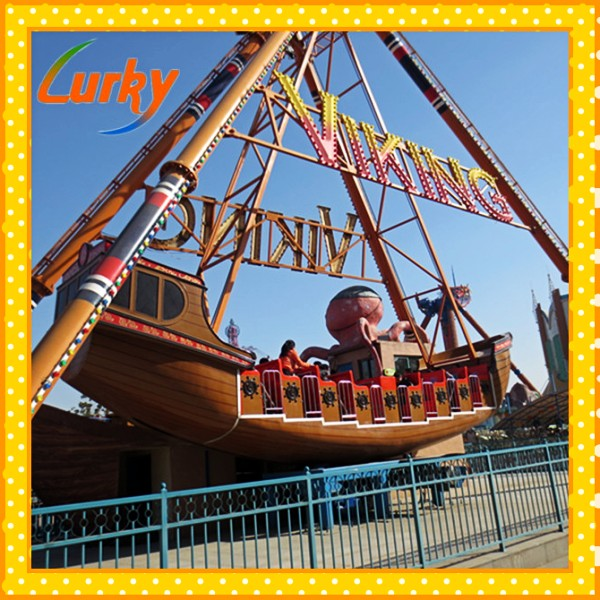 Popular pirate ship rides used entertaiment equipment low price for sale
