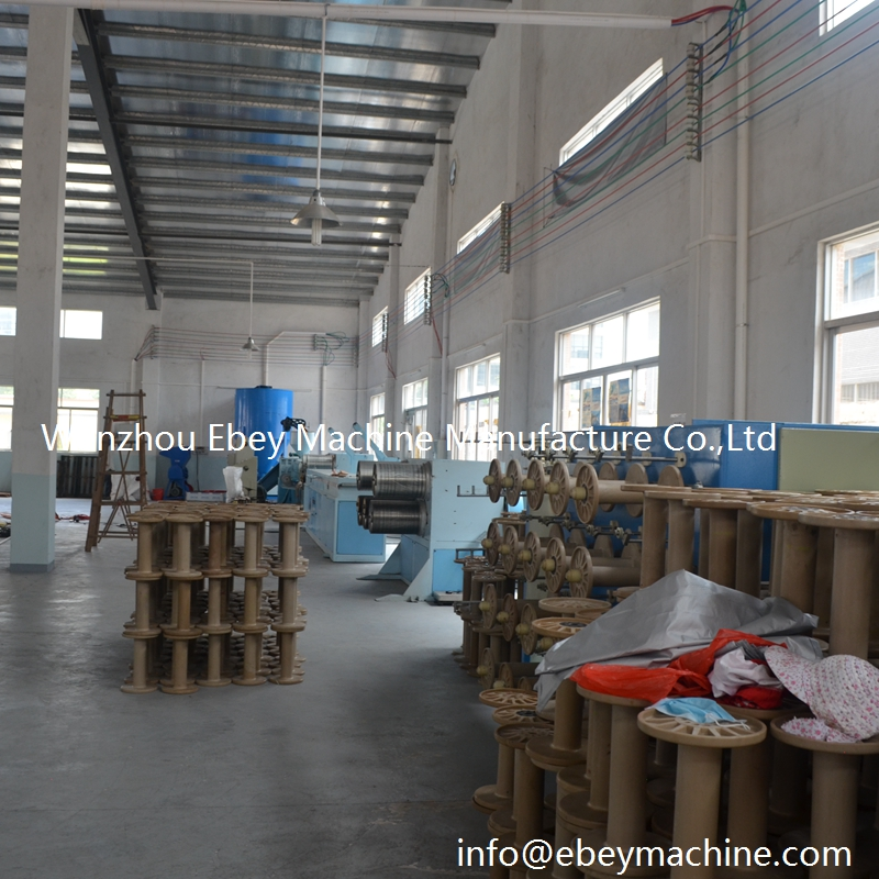 Pp Plastic Wire Drawing Multifilament Pet Tearing Yarn Machine