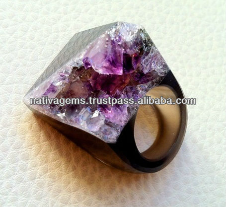 AMETHYST RINGS FROM BRAZIL