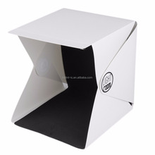 Mini Foldable Photo Studio Lightbox for Smartphone or DSLR, Light Tent for Small Product Photography