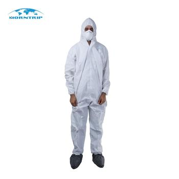 Cleanroom Chemical Protective Spray Painting Waterproof Disposable Hazmat  Suit - Buy Coveralls Disposable Hazmat Suit,Safety Disposable Hazmat