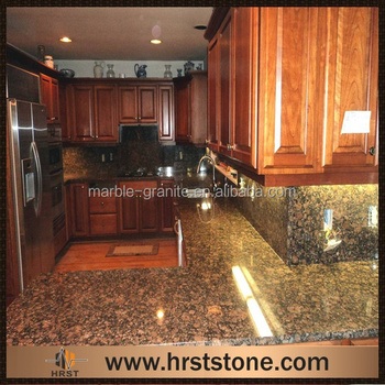 India Brown Color Polished Tan Brown Granite Kitchen Tops Buy High
