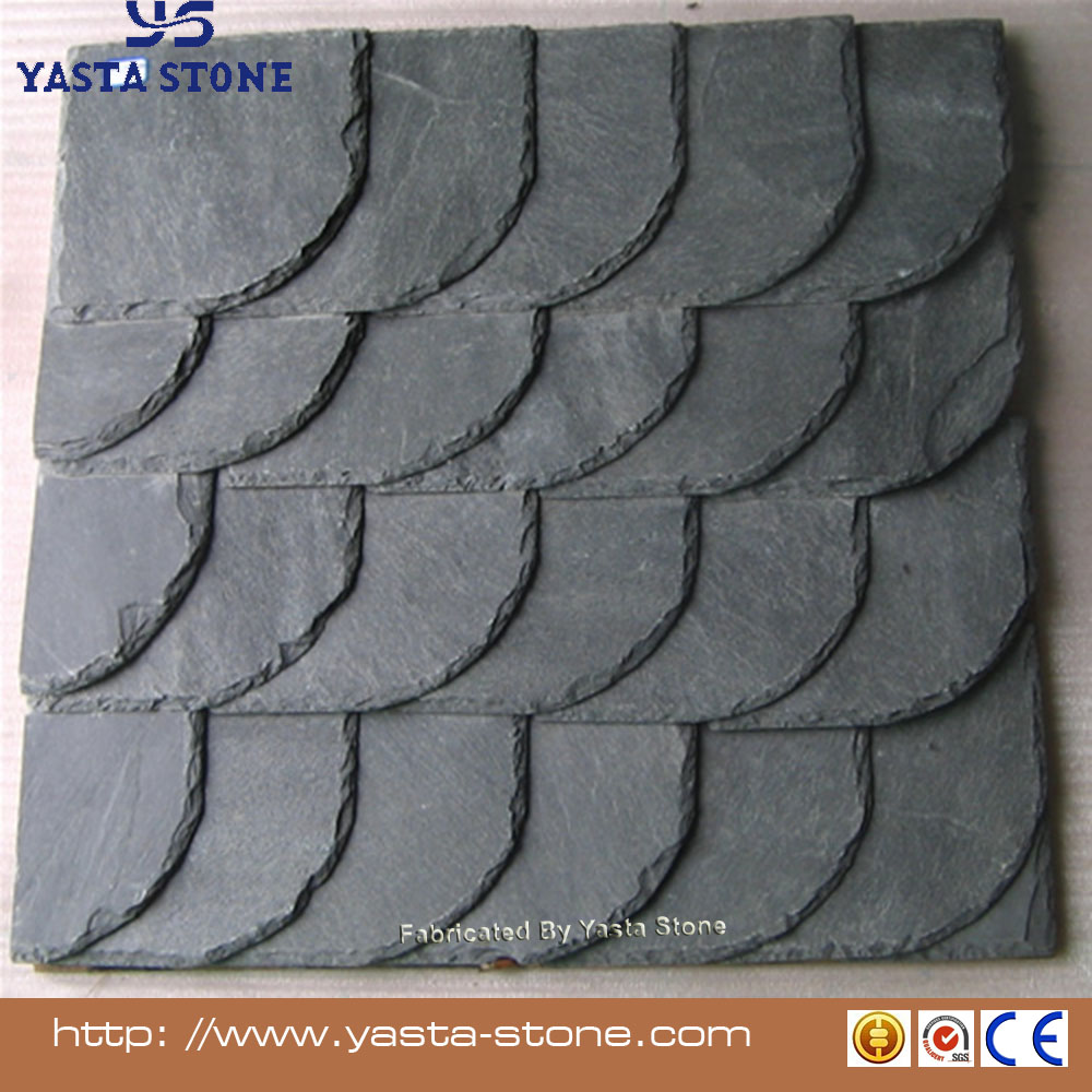 Yasta Hot selling roof slate slab tile sale for green building