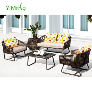 Swiss New Outdoor Furniture Wicker Sofas Lounge Pool Rattan