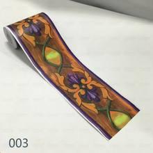 10 м ПВХ 3D обои границы самоклеющиеся плинтус линия водонепроницаемый стикер кухня ванная комната съемный Современный Стикер для настенной ...(Китай)